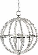 Hudson Valley 3130-PN Danville Polished Nickel 30.25  Pendant Light Fixture
