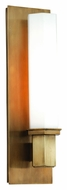 Hudson Valley 320-AGB Walton 15 Inch Tall Contemporary Wall Sconce - Aged Brass
