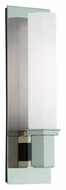 Hudson Valley 320-PN Walton 15 Inch Tall 15 Inch Tall Modern Polished Nickel Light Sconce