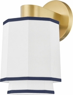Hudson Valley 3201-AGB Riverdale Modern Aged Brass Lamp Sconce