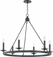 Hudson Valley 3206-AOB Allendale Contemporary Aged Old Bronze 36 Chandelier Light