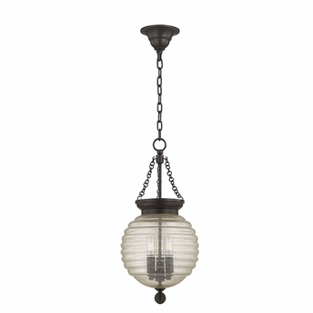 Hudson Valley 3210-OB Coolidge Old Bronze Mini Hanging Pendant Light