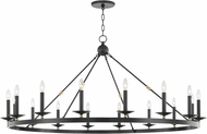 Hudson Valley 3216-AOB Allendale Contemporary Aged Old Bronze Chandelier Lighting