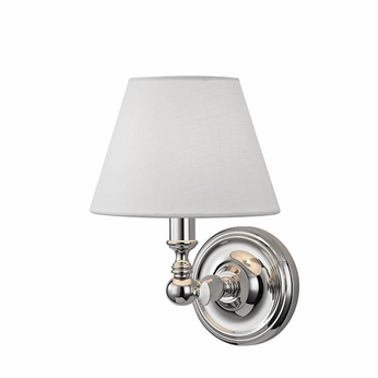 Hudson Valley 3221-PN Sidney Polished Nickel Lighting Wall Sconce