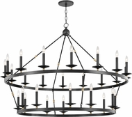 Hudson Valley 3228-AOB Allendale Contemporary Aged Old Bronze Chandelier Light
