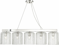 Hudson Valley 3240-PN Charles Contemporary Polished Nickel Kitchen Island Light