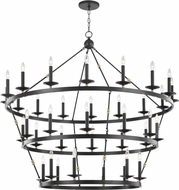Hudson Valley 3258-AOB Allendale Contemporary Aged Old Bronze Chandelier Light
