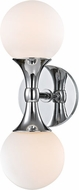 Hudson Valley 3302-PC Astoria Modern Polished Chrome LED Wall Mounted Lamp