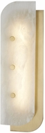 Hudson Valley 3319-AGB Yin & Yang Contemporary Aged Brass LED Lamp Sconce