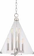 Hudson Valley 3336-PN Triad Modern Polished Nickel 18  Entryway Light Fixture