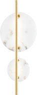 Hudson Valley 3400-AGB Croft Contemporary Aged Brass LED Wall Sconce Lighting