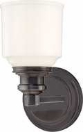 Hudson Valley 3401-OB Windham Contemporary Old Bronze Lighting Wall Sconce