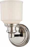 Hudson Valley 3401-PN Windham Contemporary Polished Nickel Wall Lighting Sconce