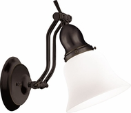 Hudson Valley 341-OB Hadley Modern Old Bronze Wall Swing Arm Lamp