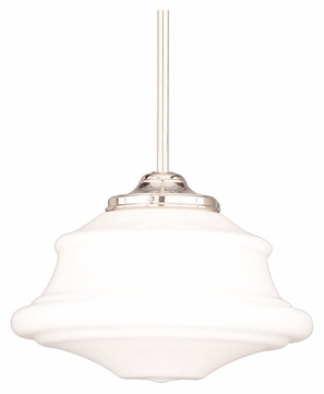Hudson Valley 3416-PN Petersburg Large 16 Inch Diameter Polished Nickel Finish Ceiling Light Pendant