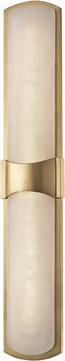Hudson Valley 3426-AGB Valencia Contemporary Aged Brass LED Wall Sconce