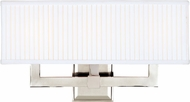Hudson Valley 353-PN Waverly Contemporary Polished Nickel 3-Light Bathroom Sconce