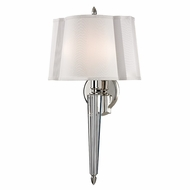 Hudson Valley 3611-PN Oyster Bay Polished Nickel Finish 21.5  Tall Wall Light Sconce