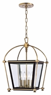 Hudson Valley 3612 Hollis 4 Light Transitional 19 Inch Tall Pendant Lamp