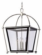 Hudson Valley 3618 Hollis Medium Cage 27 Inch Tall Transitional Hanging Pendant Light