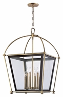 Hudson Valley 3624 Hollis Large 36 Inch Tall Transitional 8 Light Caged Lighting Pendant