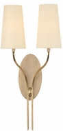 Hudson Valley 3712-AGB Rutland Aged Brass Wall Lighting Sconce