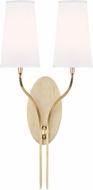 Hudson Valley 3712-AGB-WS Rutland Aged Brass Wall Sconce Lighting