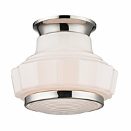 Hudson Valley 3809F-PN Odessa Polished Nickel Finish 8.75 Wide Home Ceiling Lighting
