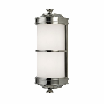 Hudson Valley 3831-PN Albany Polished Nickel Sconce Lighting