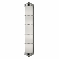 Hudson Valley 3833-PN Albany Polished Nickel Lighting Wall Sconce