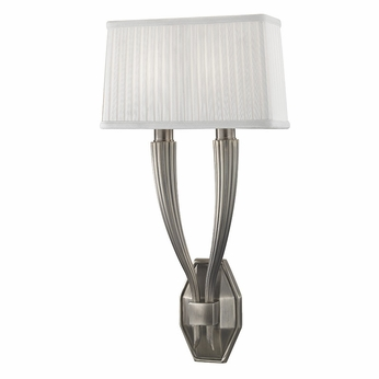 Hudson Valley 3862-HN Erie Historic Nickel Wall Light Sconce