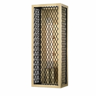 Hudson Valley 4001-AGB Brookline Modern Aged Brass Sconce Lighting