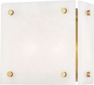 Hudson Valley 4002-AGB Paladino Contemporary Aged Brass Light Sconce