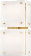 Hudson Valley 4004-AGB Paladino Modern Aged Brass Wall Sconce Lighting