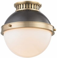 Hudson Valley 4009-ADB Latham Contemporary Antique Distressed Bronze Ceiling Light Fixture