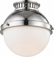 Hudson Valley 4009-PN Latham Modern Polished Nickel Ceiling Lighting Fixture
