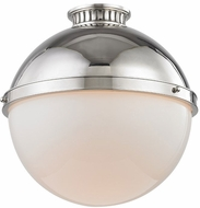 Hudson Valley 4015-PN Latham Modern Polished Nickel Flush Lighting