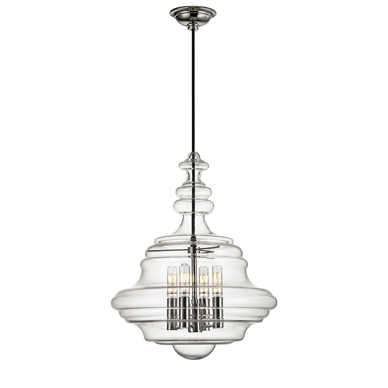 Hudson Valley 4016-PN Washington Contemporary Polished Nickel Pendant L&. Loading zoom  sc 1 st  Affordable L&s & Hudson Valley 4016-PN Washington Contemporary Polished Nickel ...
