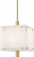 Hudson Valley 4018-AGB Paladino Modern Aged Brass Pendant Light