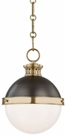 Hudson Valley 4019-ADB Latham Contemporary Antique Distressed Bronze Mini Drop Ceiling Lighting