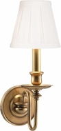 Hudson Valley 4021-AGB Menlo Park Aged Brass Wall Light Sconce