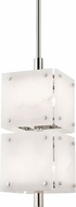 Hudson Valley 4052-PN Paladino Modern Polished Nickel Mini Pendant Light Fixture