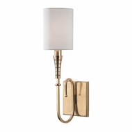 Hudson Valley 4091-AGB Kensington Aged Brass Lighting Sconce
