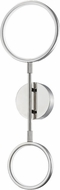 Hudson Valley 4102-PN Saturn Modern Polished Nickel LED Wall Lighting Fixture