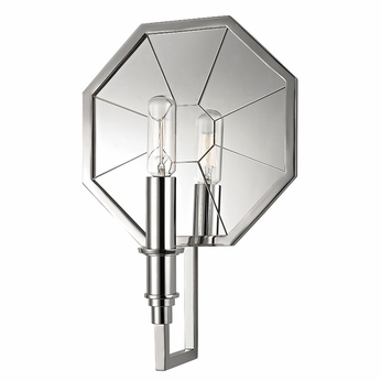 Hudson Valley 4111-PN Cushing Modern Polished Nickel Wall Sconce Light