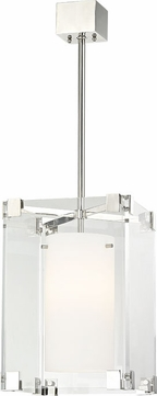 Hudson Valley 4125-PN Achilles Modern Polished Nickel 13  Pendant Lighting