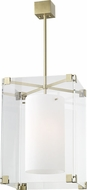 Hudson Valley 4132-AGB Achilles Contemporary Aged Brass 18  Pendant Light