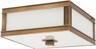 Hudson Valley 4213-AGB Preston Aged Brass 13 Ceiling Lighting Fixture