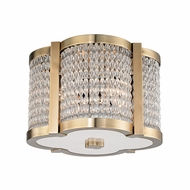 Hudson Valley 4301-AGB Ballston Aged Brass Ceiling Lighting