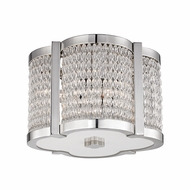 Hudson Valley 4301-PN Ballston Polished Nickel Ceiling Light